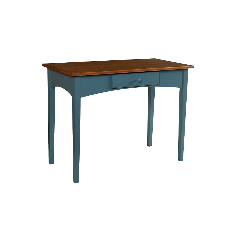desks - penns creek - small shaker writing desk with 1 drawer - finished.jpg