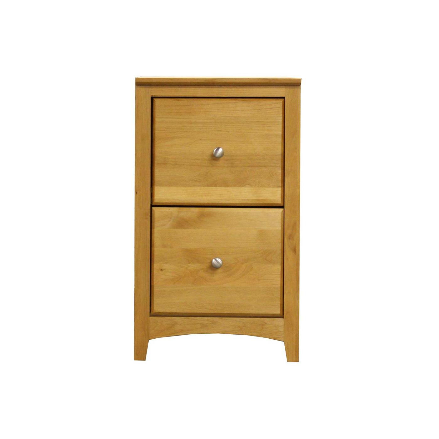 Archbold - Shaker 2 drawer vertical file cabinet modular office - Finished.jpg
