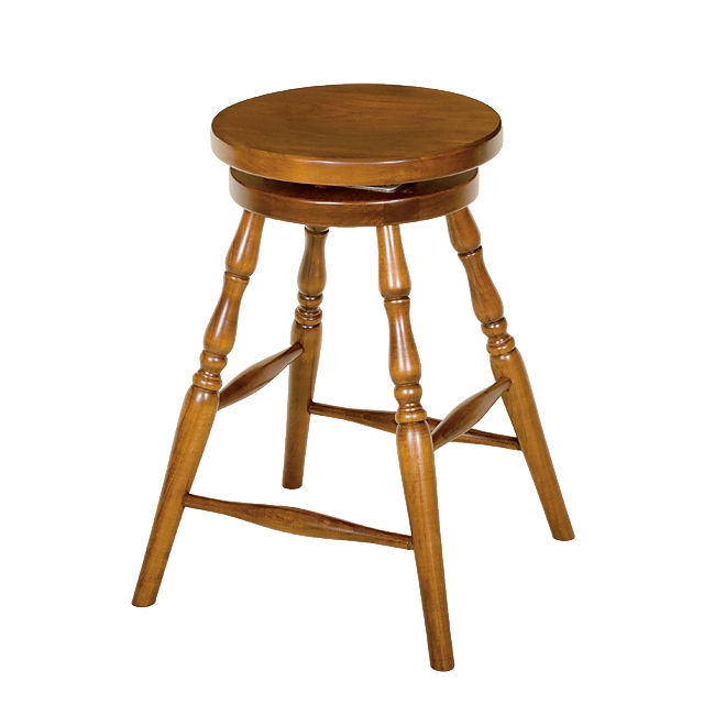 Penns Creek Colonial Round Top Stool With Swivel    Starting at: $