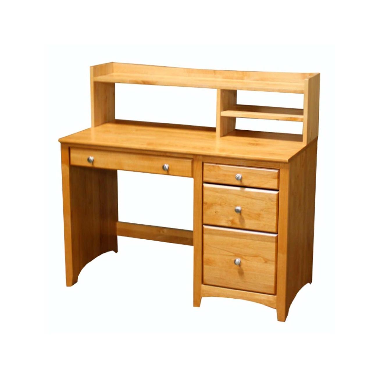 desk hutch - Archbold - 4 drawer desk and 45w student desk hutch modular office - Finished.jpg