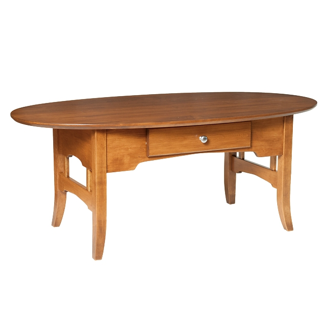 Coffee Tables - Oval and Round