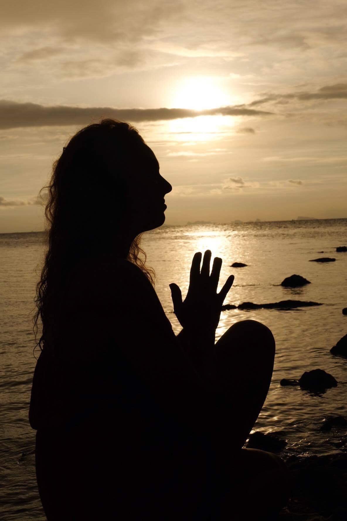 Meditation on Koh Phangan Island, Thailand