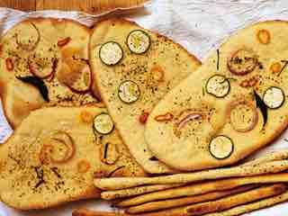 Breadsticks and flatbread.jpg