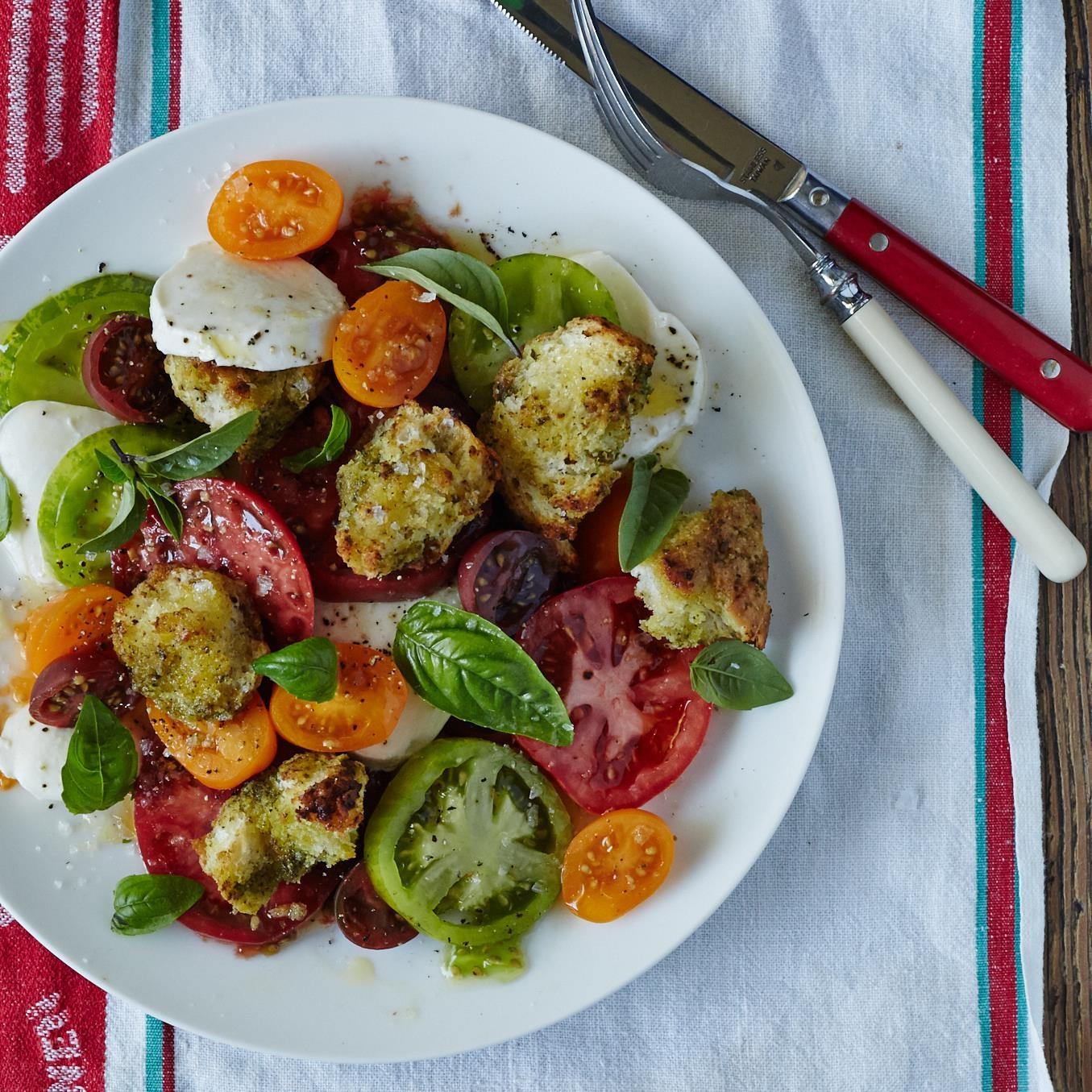 Tomato Salad with Torn Pesto Croutons.jpg