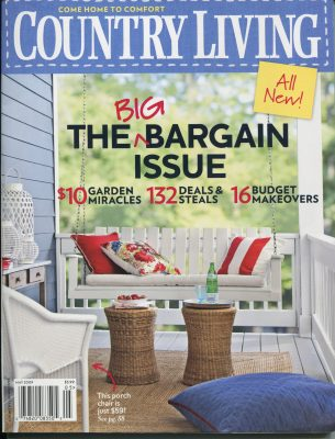 Country Living, May 2009 -