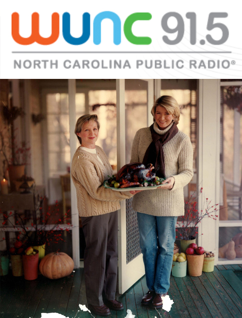 WUNC – The State of Things, December 2015 -