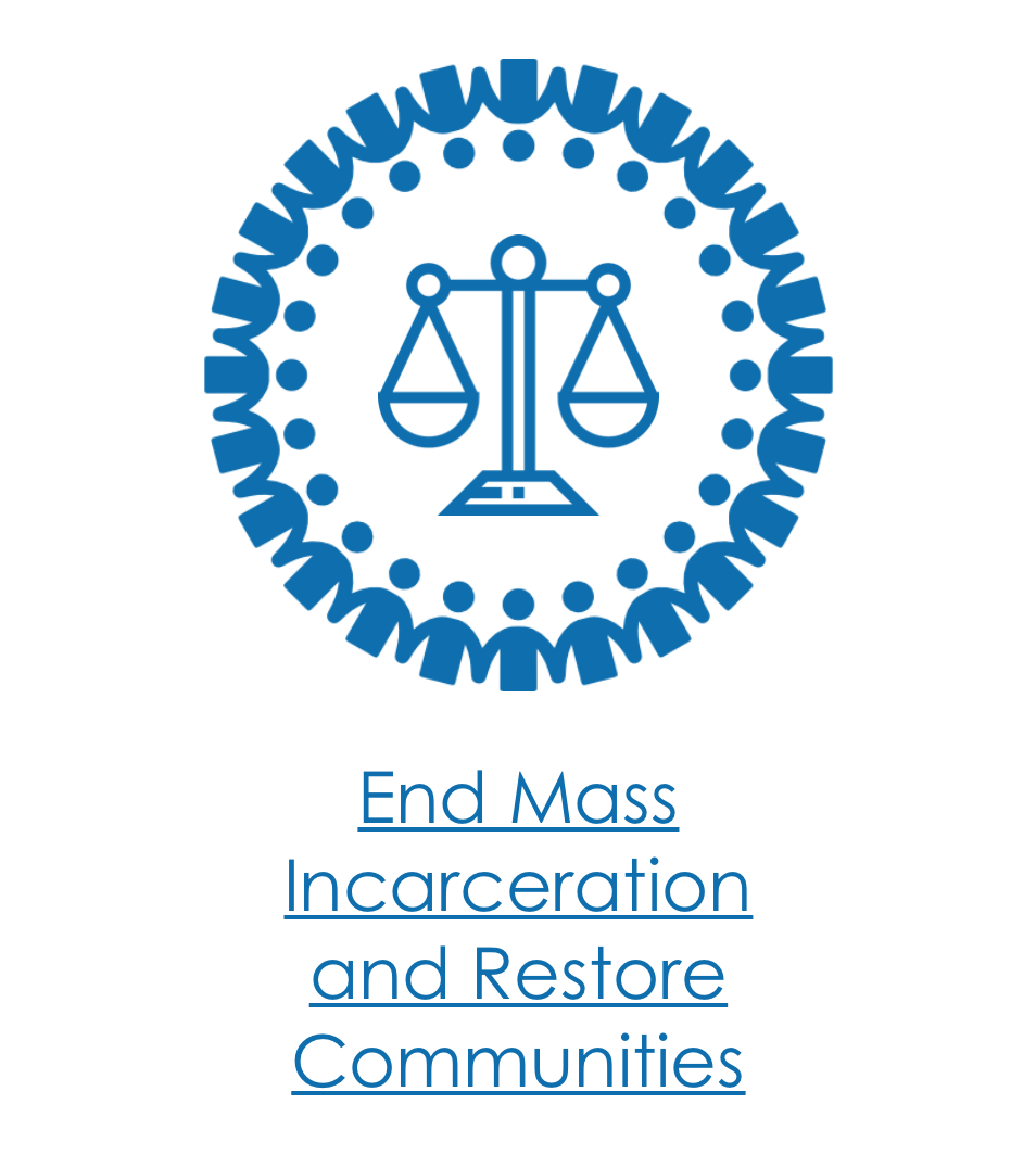 End Mass Incarcertion Icon Issue WesBell.png