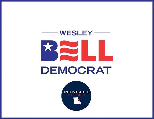 "Join us as we partner with @indivisiblestlouis for ""Postcards in the Park for Wesley Bell"" this Sunday, June 10th. We are so thankful for their endorsement and continuing support. Let us know if you can make it!  Event link: https://www.facebook.com/events/2041951109403654/?ti=icl"