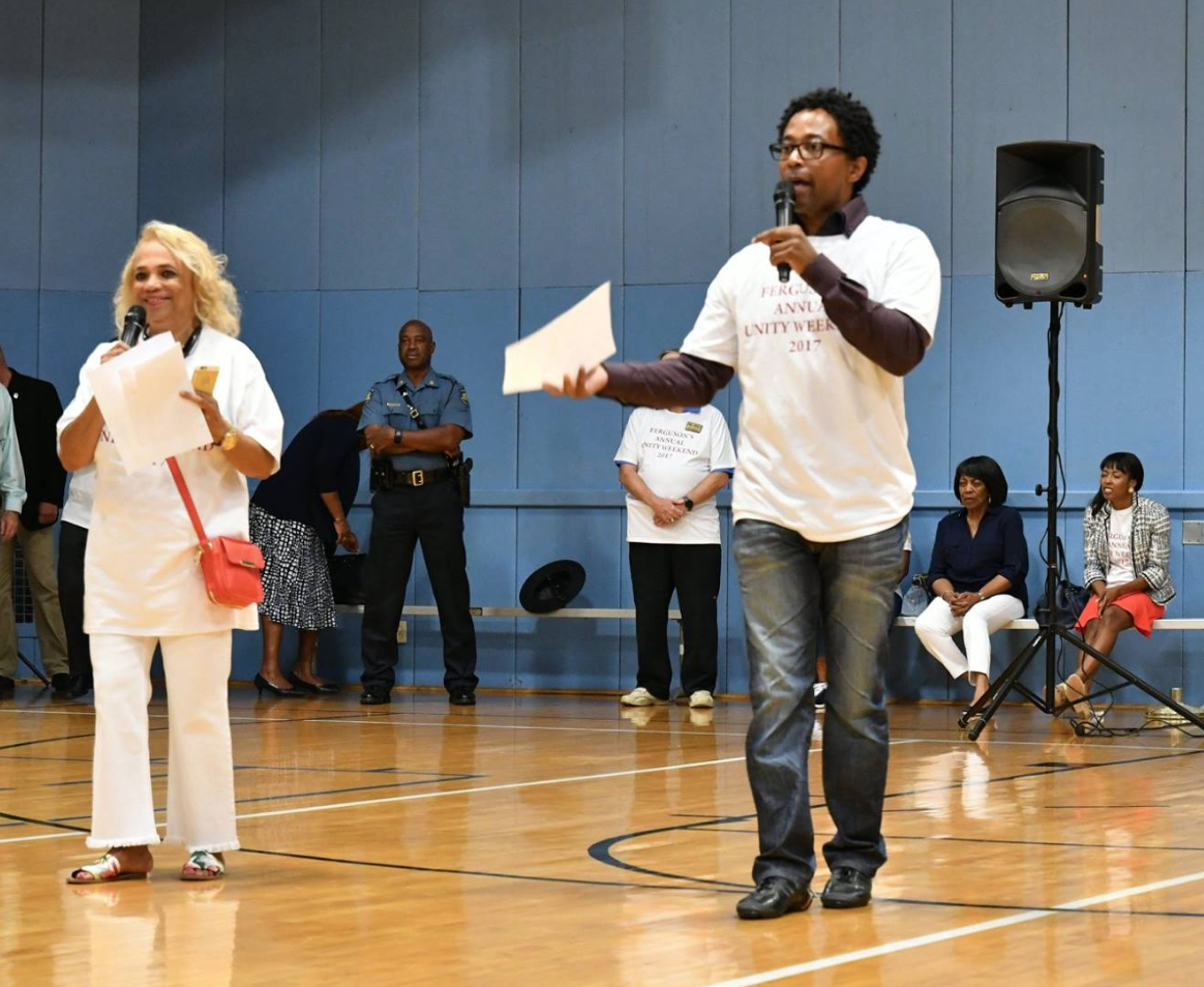 Wesley Bell  Sharon Pace