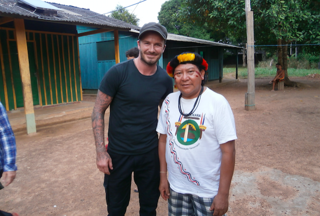 The Guardian - What could David Beckham's BBC film say about the Brazilian Amazon?
