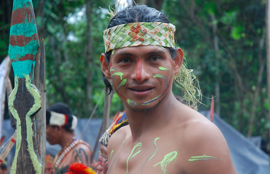 The Guardian - Peru's new president summoned to Amazon by indigenous protestors