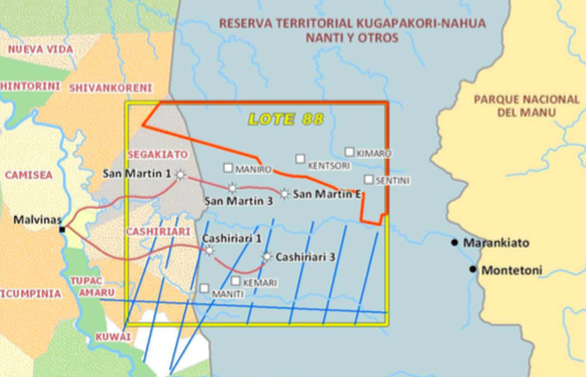 Mongabay - Over 30 tons of explosives to be detonated in Manu buffer zone