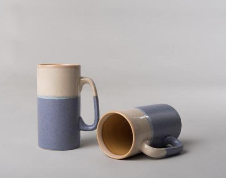 The Satayam Mugs from Jaipur, India.   Click to Shop