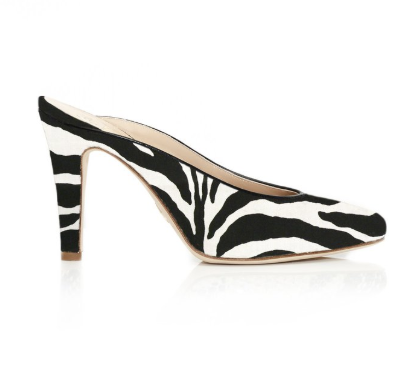 Brother Vellies Zebra Holiday Mule Pump from Africa.   Click to Shop
