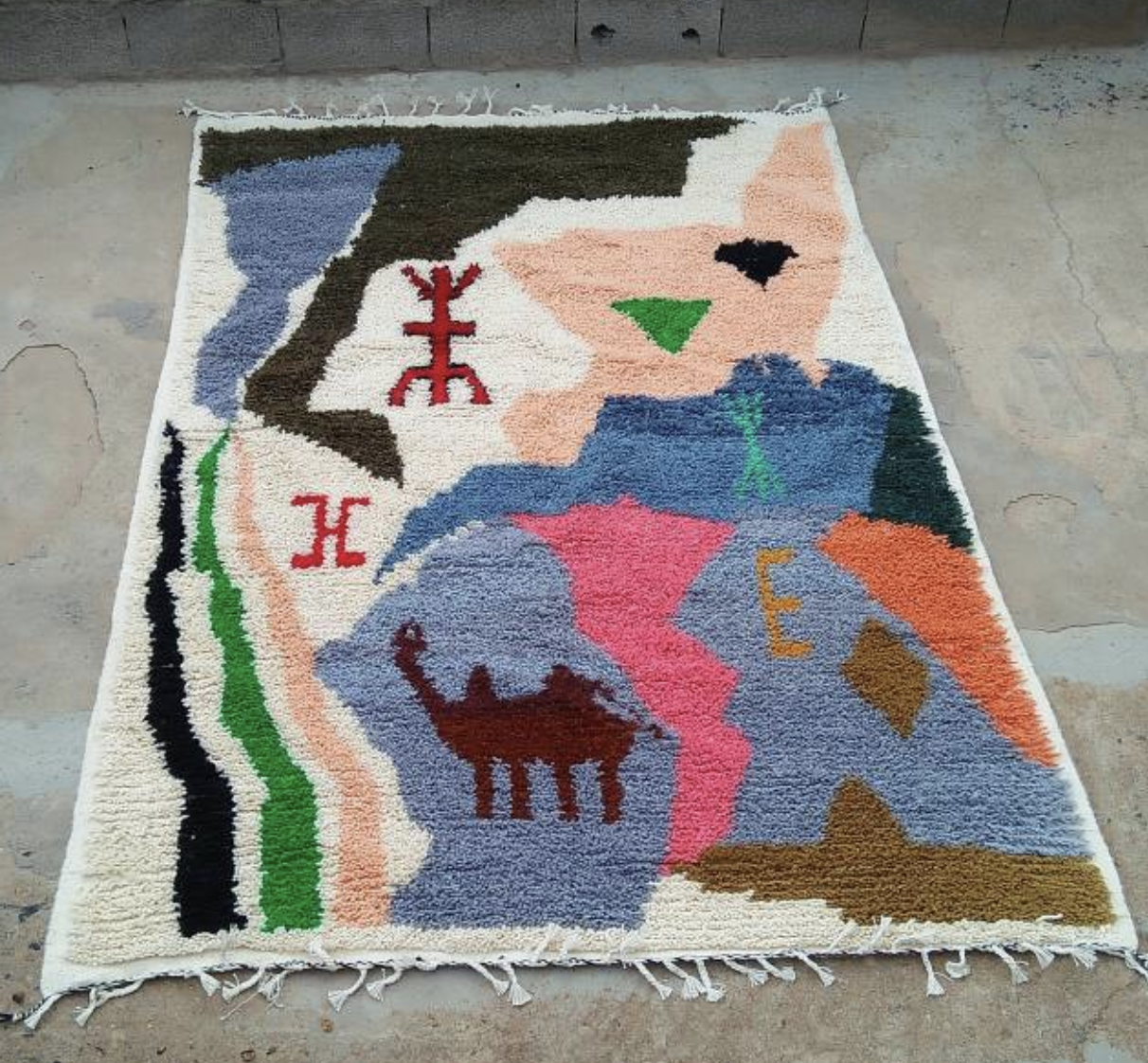Brilliant Carpet by  Cooperative Tifawin  of the The Anou.   Click to Shop