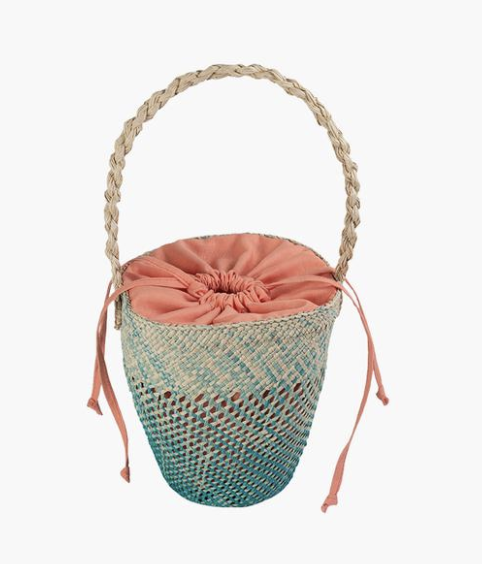 The Mola Sasa Bucket Bag from Colombia.   Click to Shop