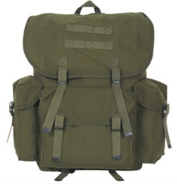 The Army Navy Rucksack from USA.   Click to Shop