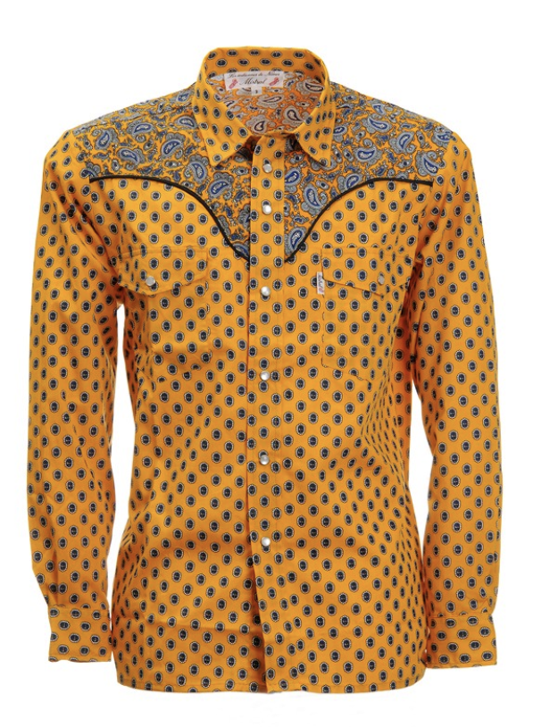 The Provencale Cowboy Shirt from France.   Click to Shop