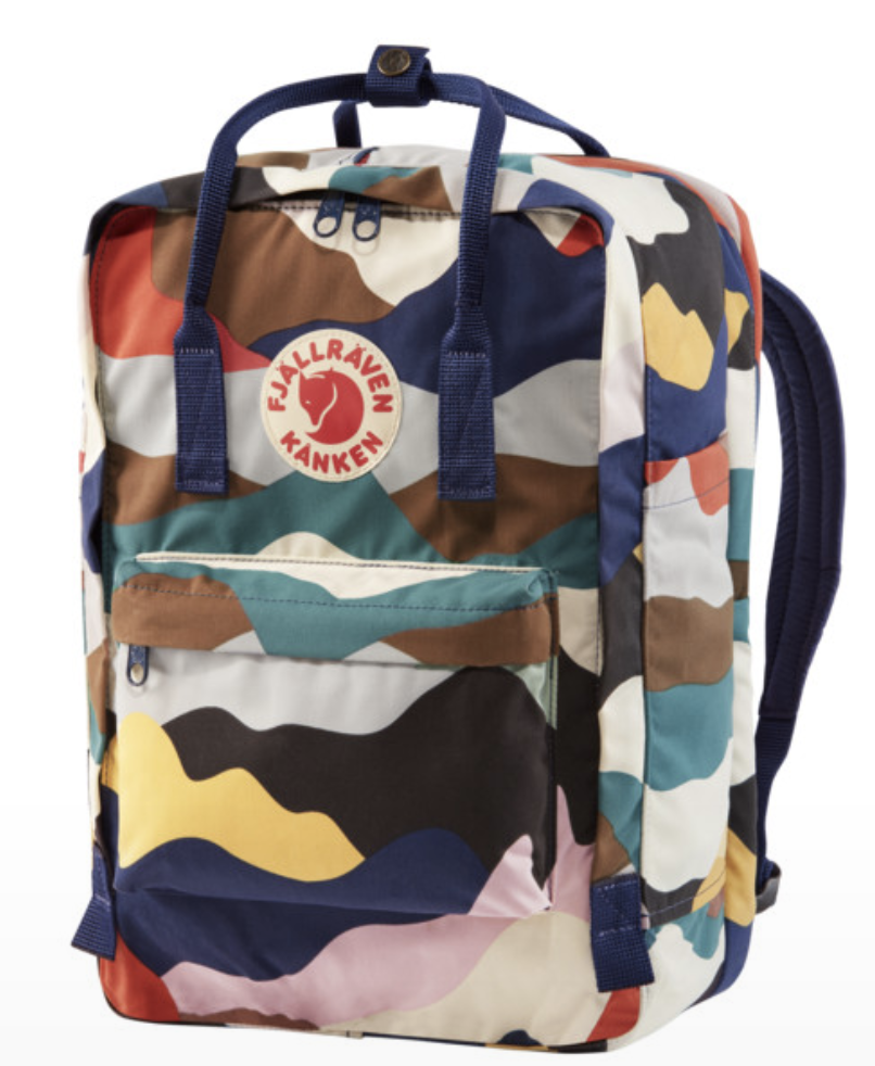 FjallRaven     $145 Click to Shop    Fair Labor Association's Workplace Code of Conduct, Abstains from using harmful chemicals, Says no to Flurocarbons