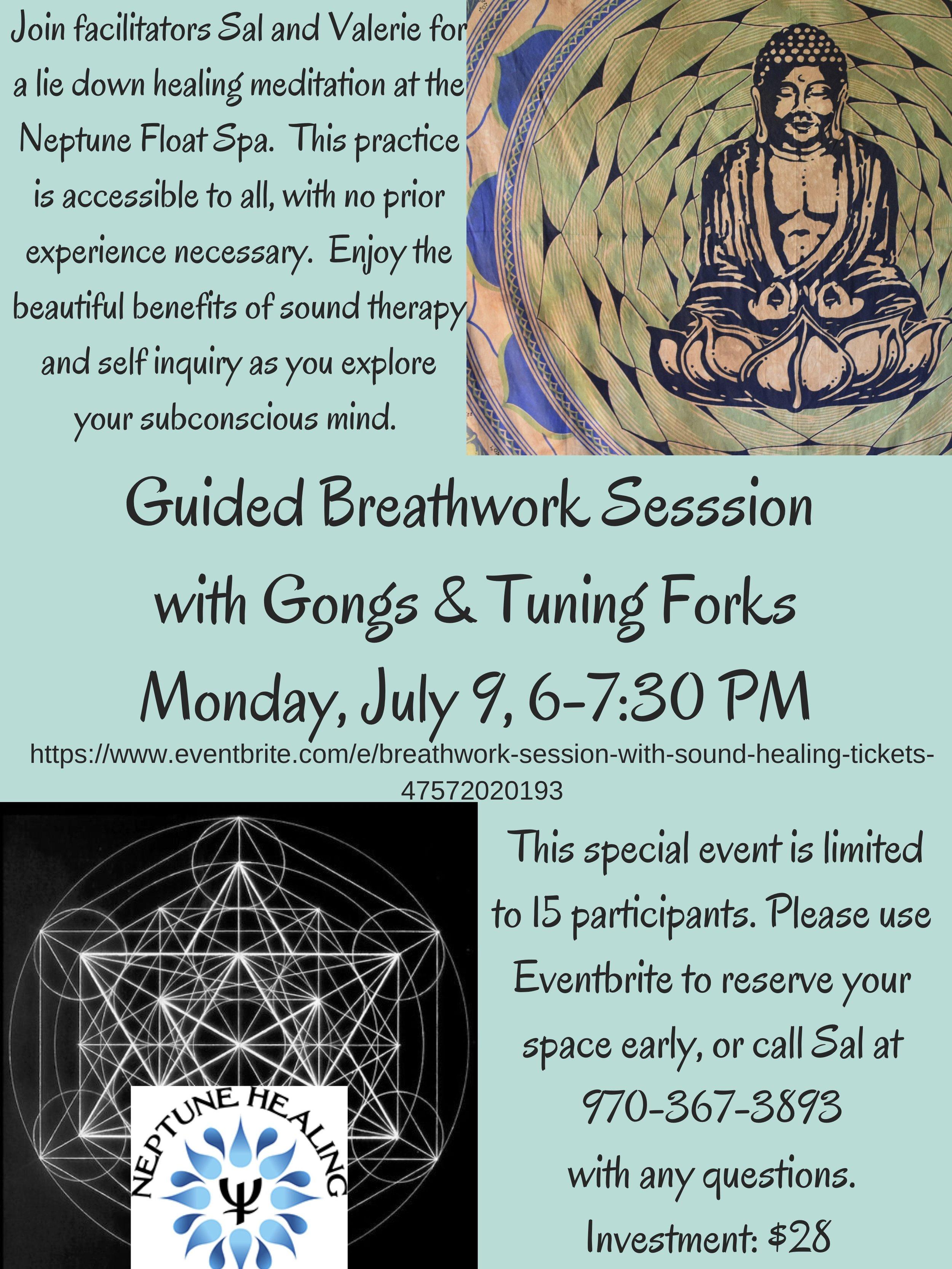 Breathwork conscious circular breathing meditation