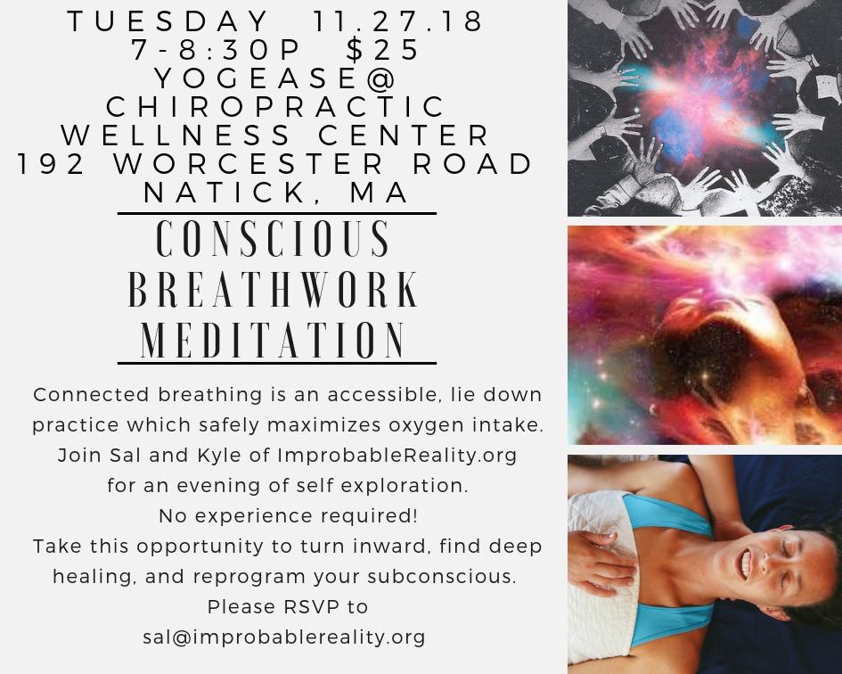 Breathwork Healing Meditation Massachusetts