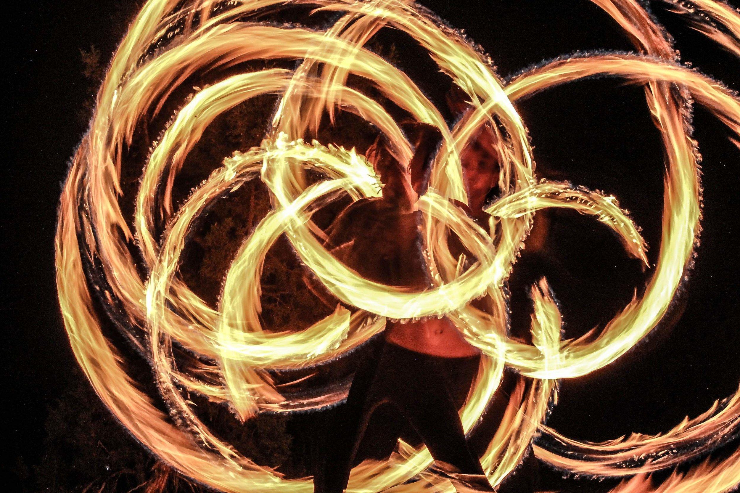 fire spinning colorado