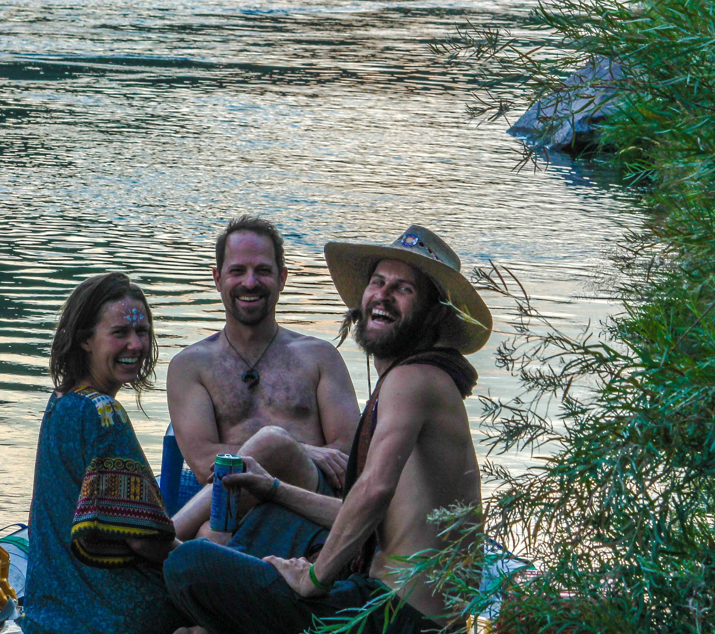 river rafting yoga retreat