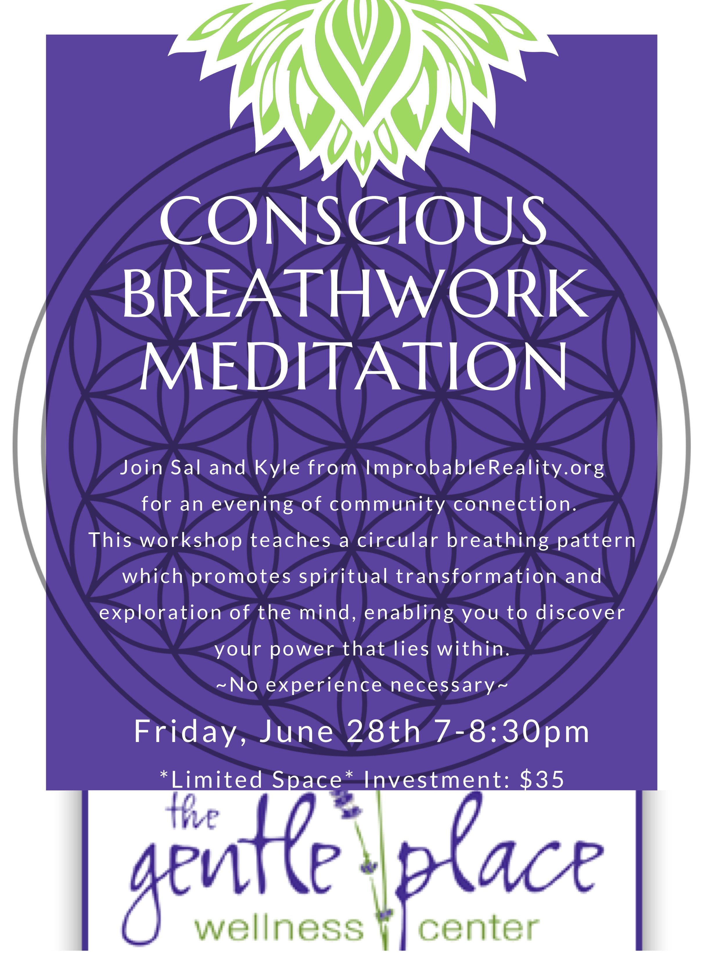 Breathwork Meditation Class Framingham Massachusetts