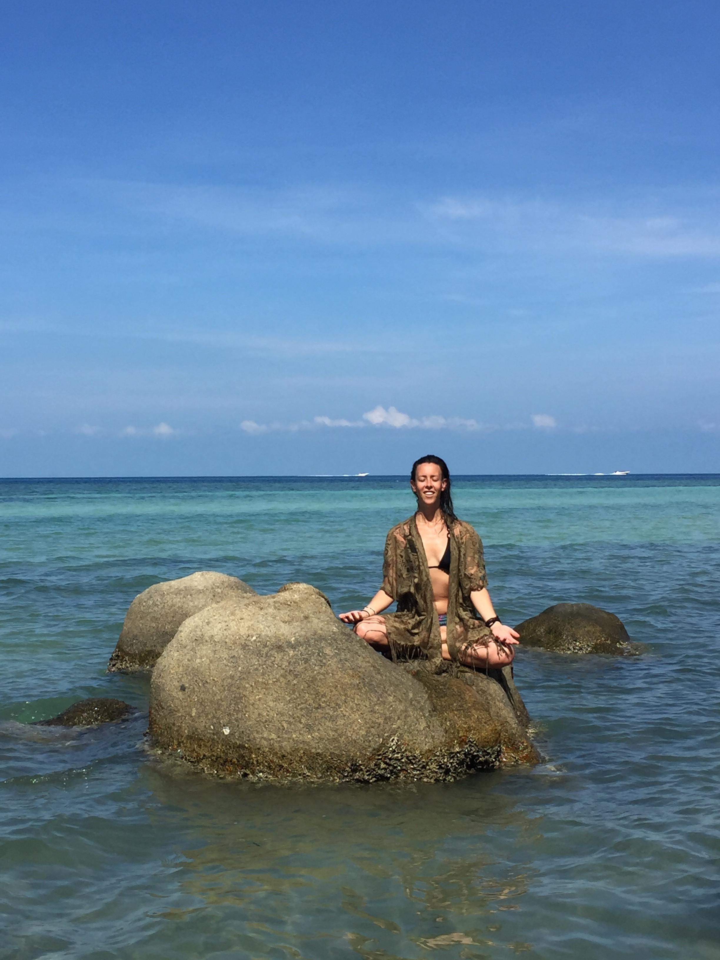 breathwork facilitator and yoga instructor