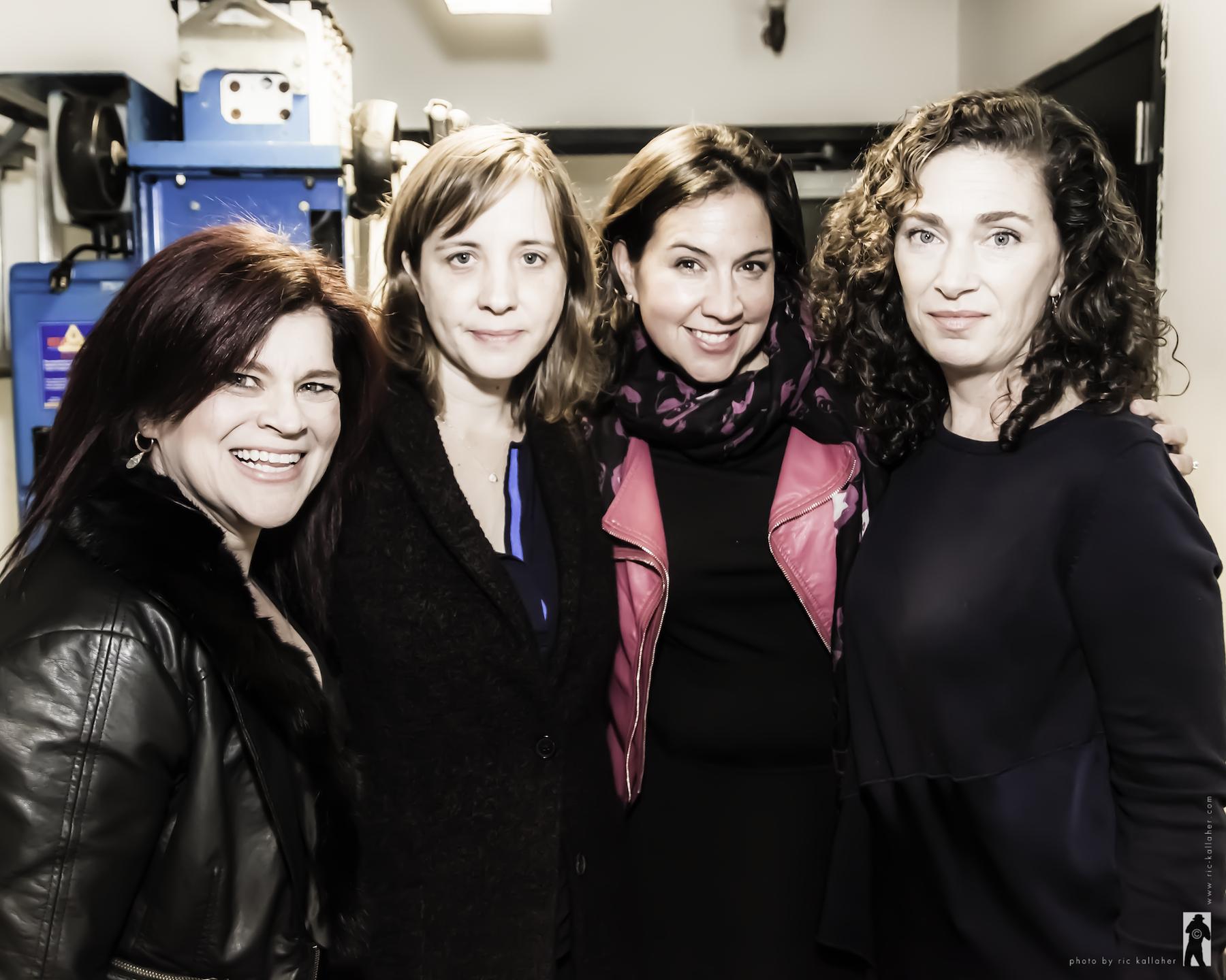 Storyville team at NAMT, Lisa DeSpain (music), Kate Whoriskey (director), Kristen Anderson-Lopez (lyrics), Julia Jordan (book)