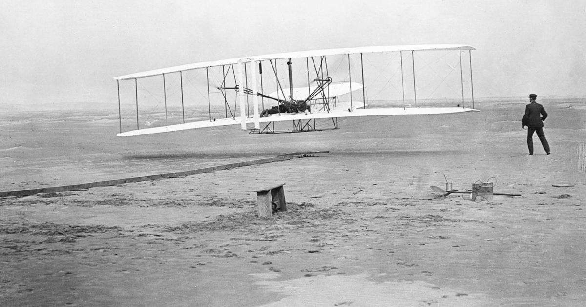 Wright Brothers - At Kitty Hawk