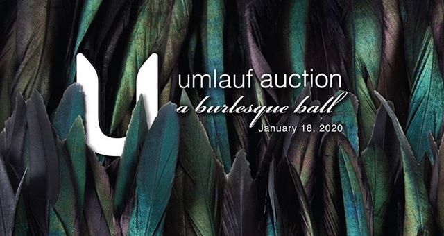 Had the pleasure of creating the branding for the upcoming @umlaufsculpture auction: a burlesque ball! This event will take place in January but they are giving away tickets soon. Head on over to their profile to check it out. #lovelocal