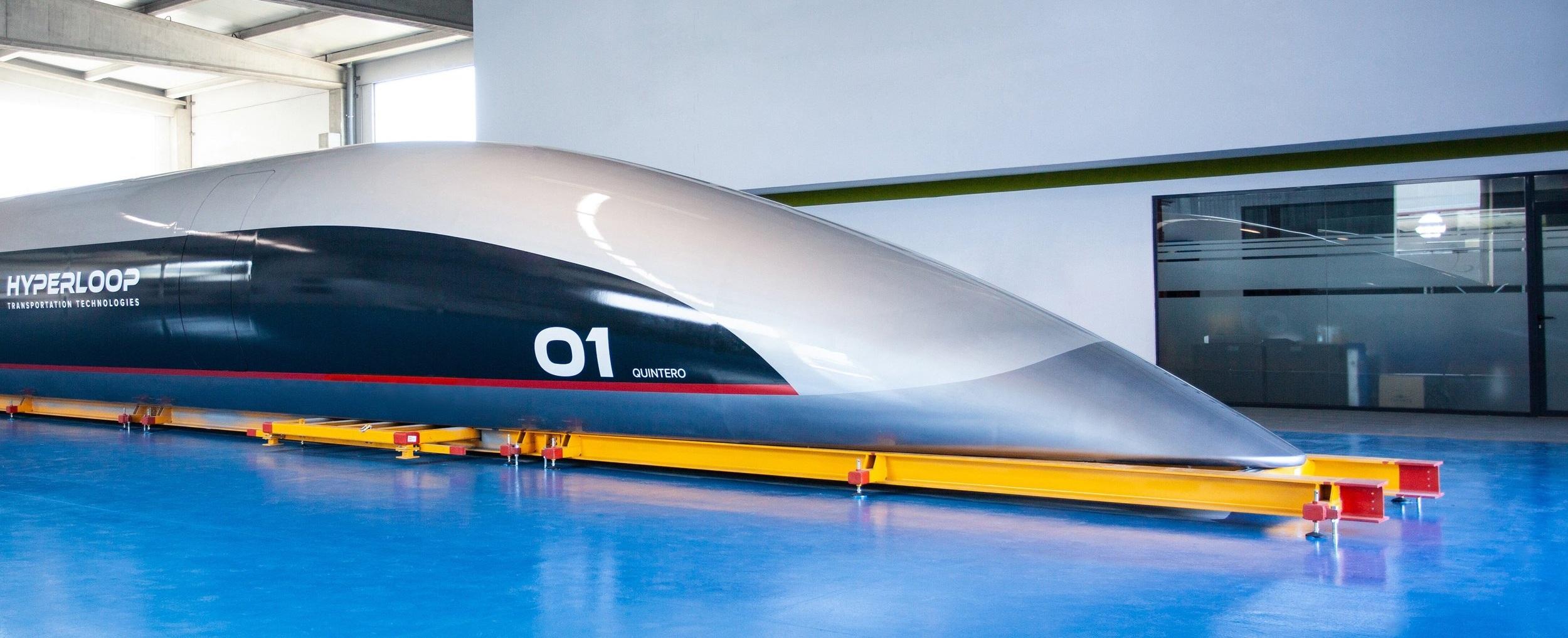 HyperloopTT Recently Revealed Full-Scale Passenger Capsule