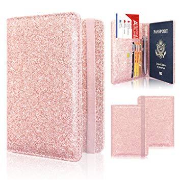 Glitter Passport Book