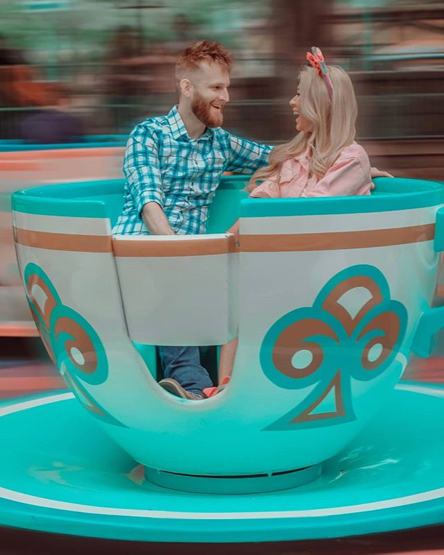 Happy Birthday to my best friend.🎂🎈🥳🎉 No matter how tough you try to act, you'll always be the sweetest boy I've ever met. You are so selfless when it comes to taking care of me and my family and my best friends. I love you so much. Sorry for dragging you all over every Disney all the time from rope drop to the kiss goodnight. 😅 Here's to many more to come til death do us part. Or until I drive you insane. Whichever comes first. 🏰🐭✨🍭🍦🧁🍎🥨🍩🍪🍿 Photo: @faebae.jpg  Location: @disneyland #disney #disneyland #disneylandcalifornia #madteaparty #madteapartyride #alicesteacups #teacupride #disneylandteacups #marriedlife #happybirthdaytomyhubby #ilysm