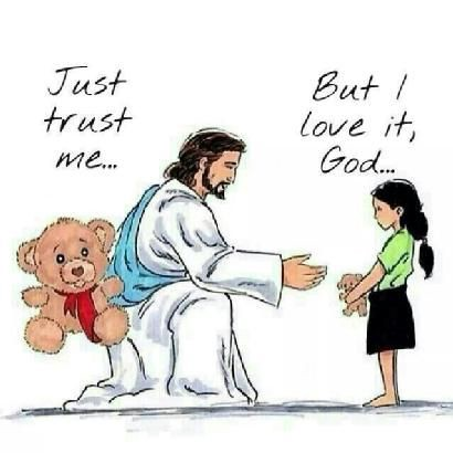 I'm not a religious person at all, but this simple cartoon demonstrates how you just have to trust that something better is in the works for you.