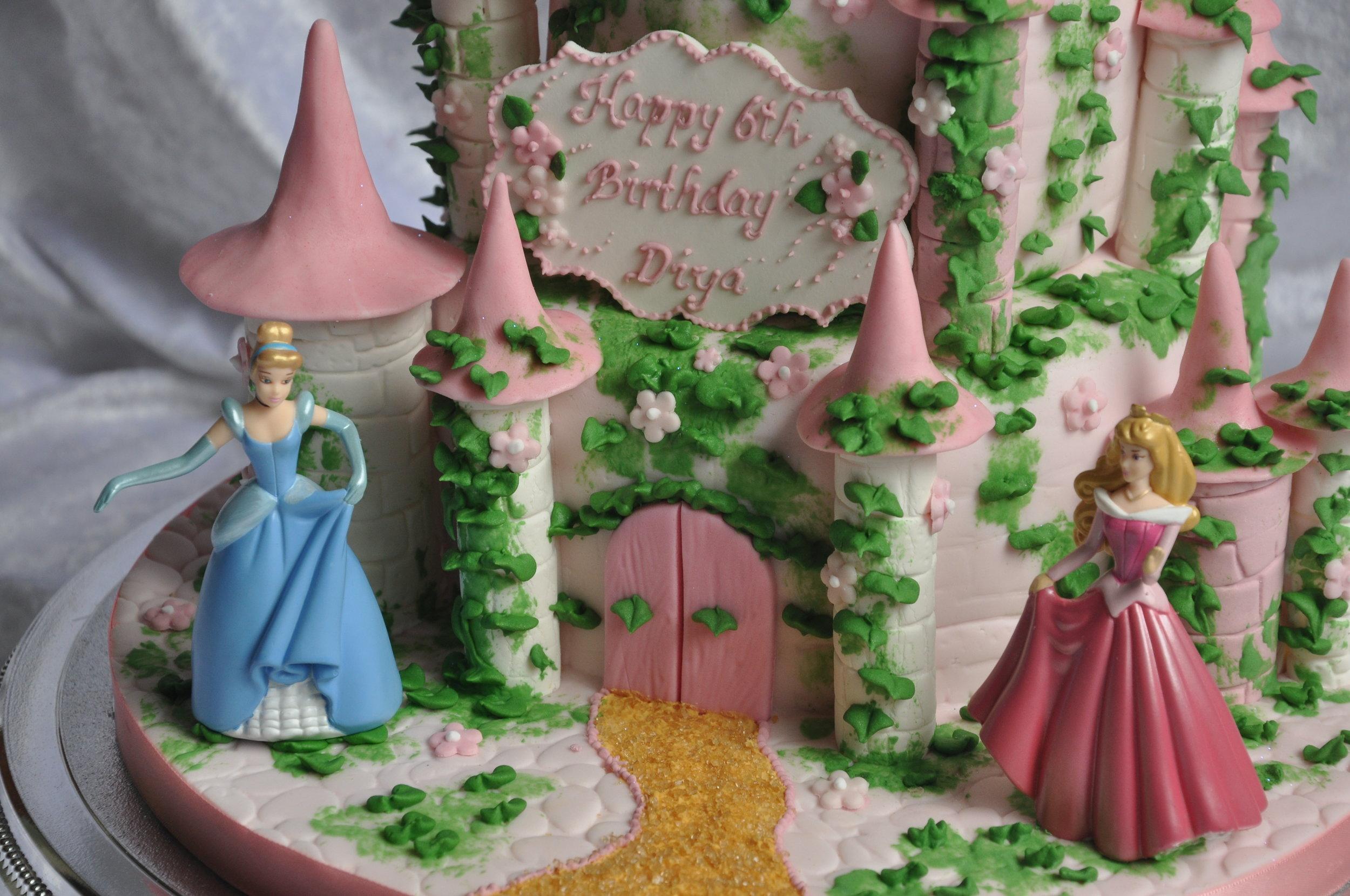 2012-06-22 Princess Castle Birthday Cake 03.JPG