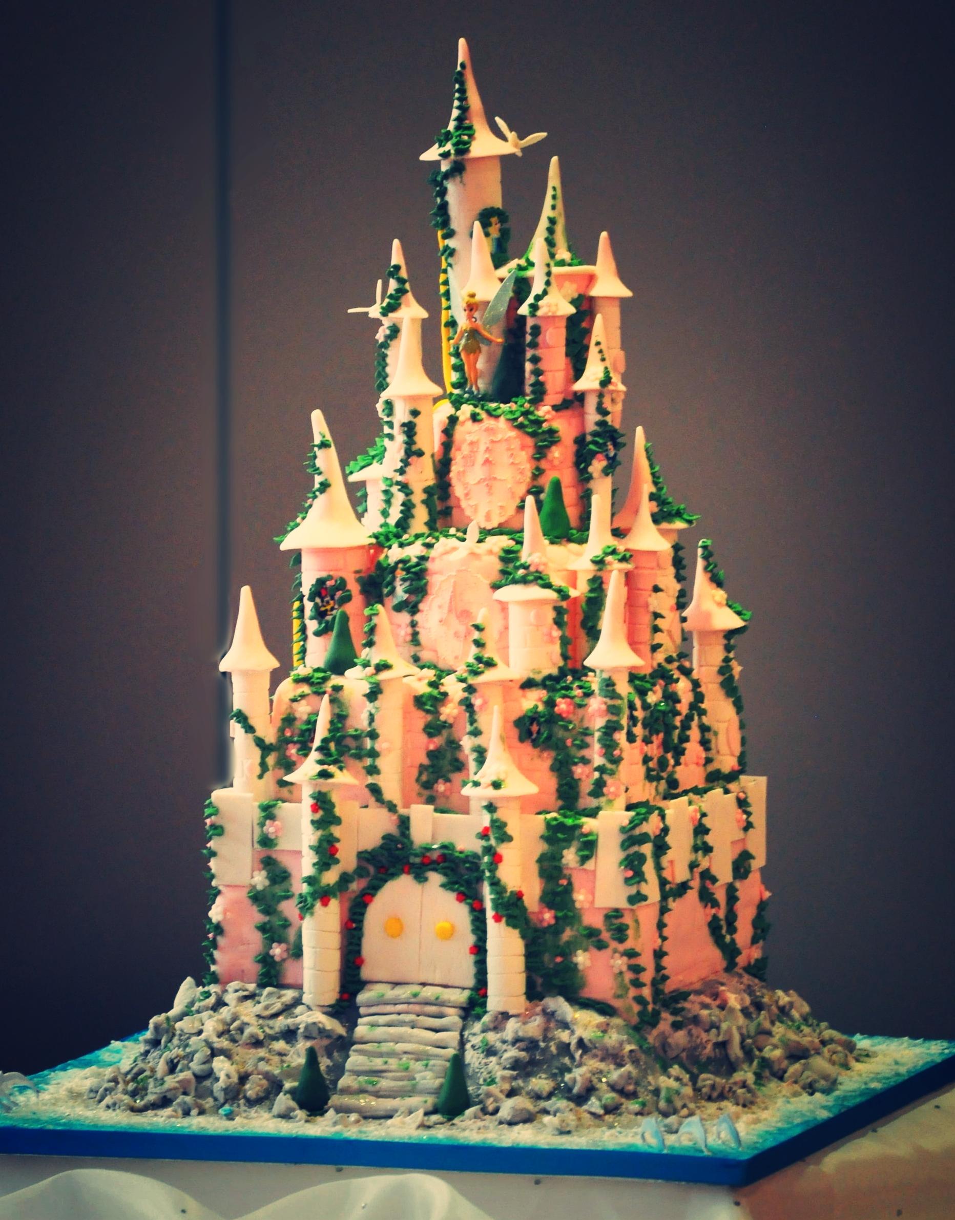 A castle for a princess -