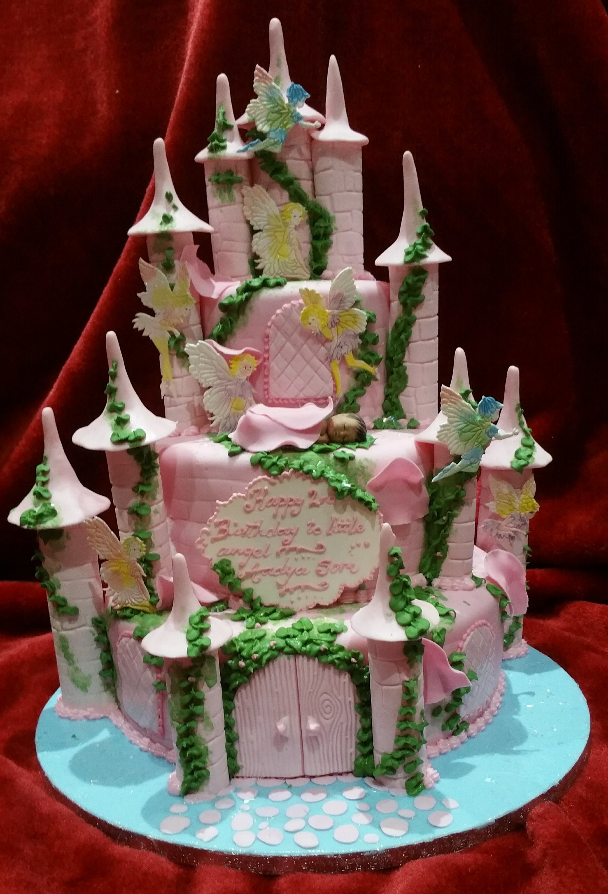 Castle for a sleeping baby -