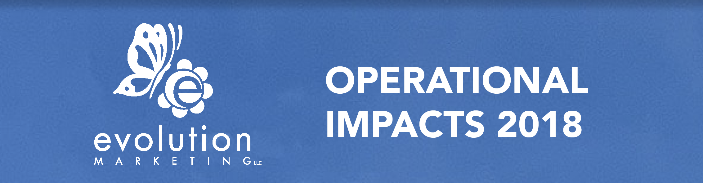 Operational impact report 2018