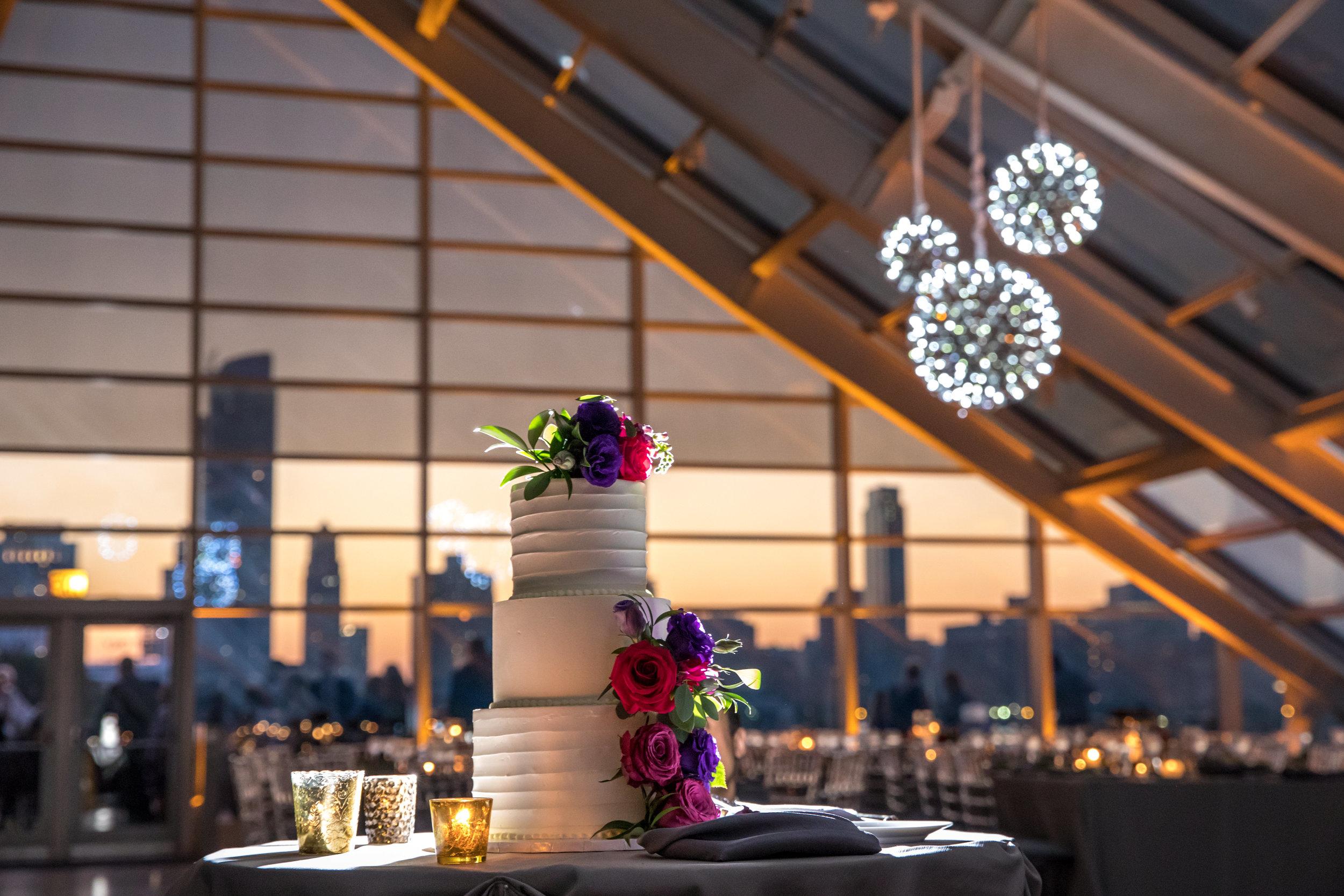 Chicago's best wedding cake