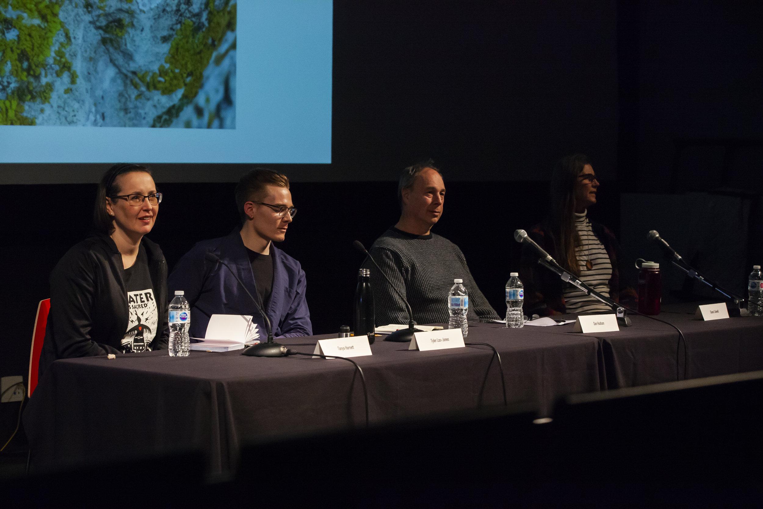 Tanya Harnett, Tyler Los-Jones, Dan Hudson and Diane Colwell.