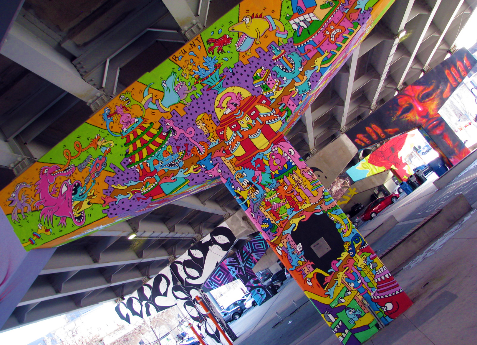 WEB PROFILE PHOTO - RUNT - Toronto Underpass Project - Acrylic Paint.JPG