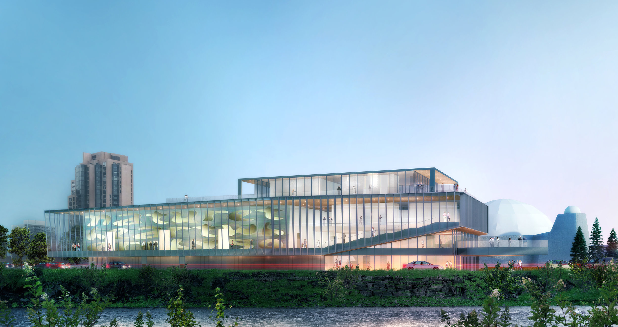Rendering: Contemporary Calgary, New Gallery Wing