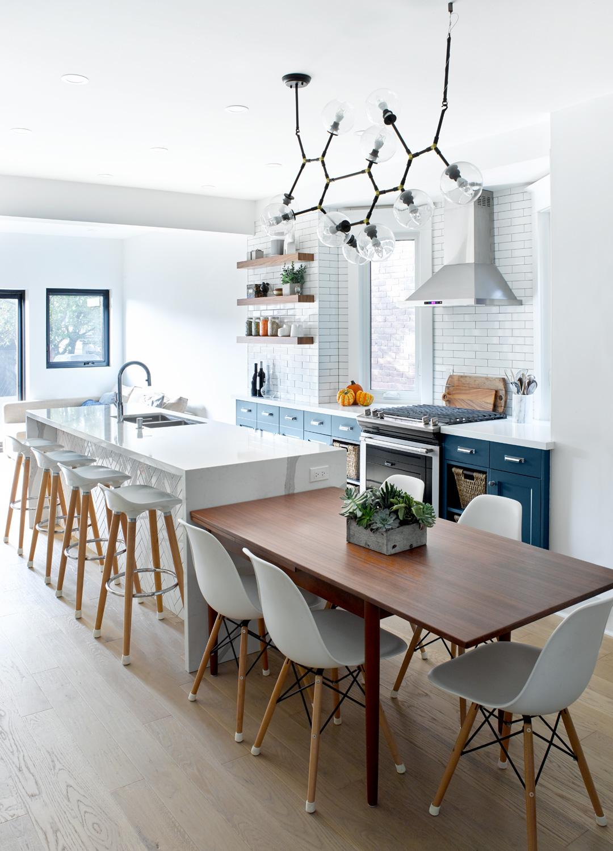 Toronto Kitchen Island with Table