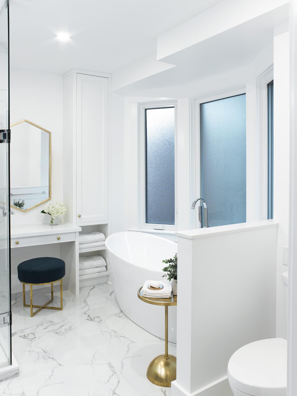 Four Piece Master Bathroom