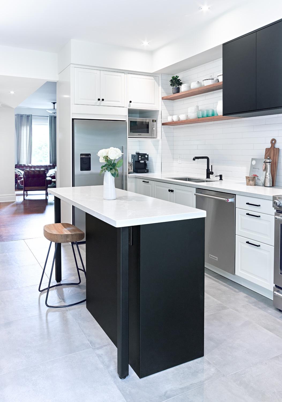 Little Ikea Kitchen with Island