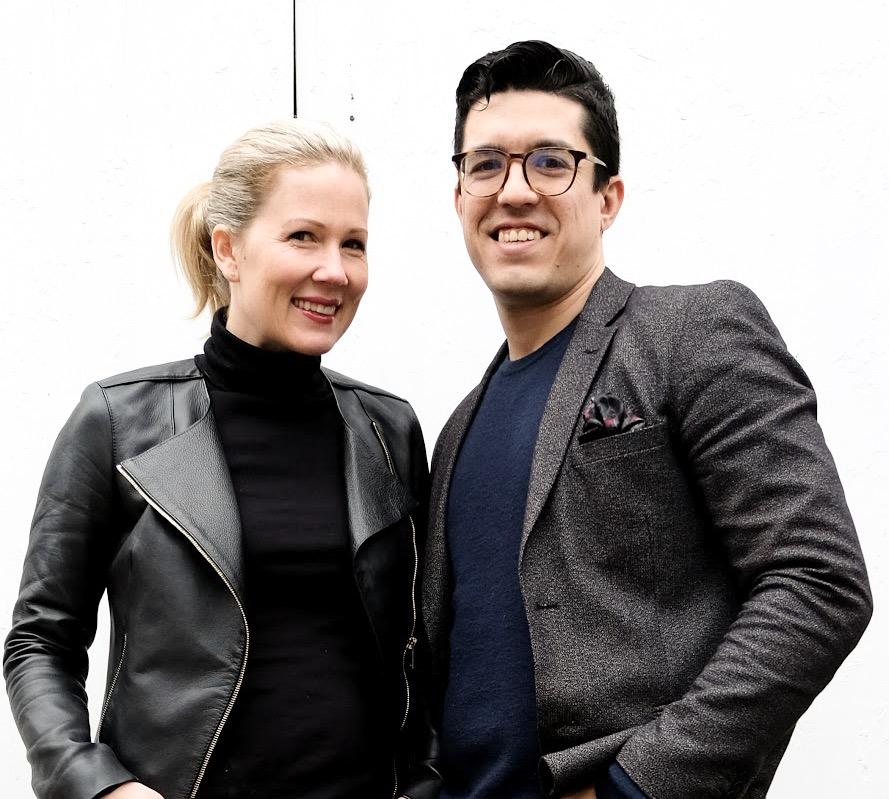 Linnea and Martin from Designstrom
