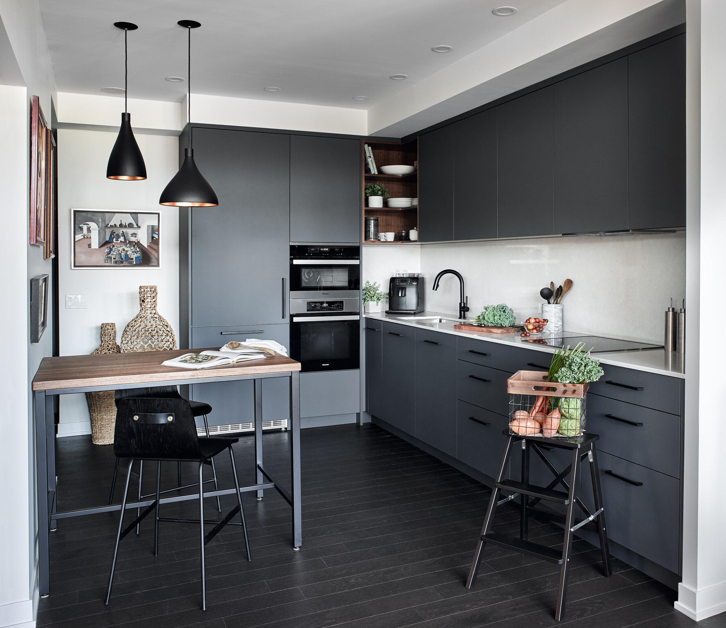 modern condo kitchen in toronto — designstrom