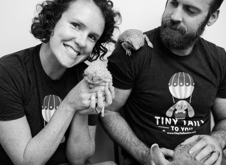 Chelsea and Joe, Owners of Tiny Tails to You